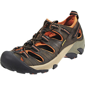Keen Arroyo II Sandalen Heren, black olive/bombay brown